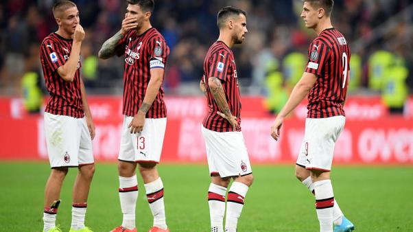 Crisis clubs Milan and Napoli clash at San Siro
