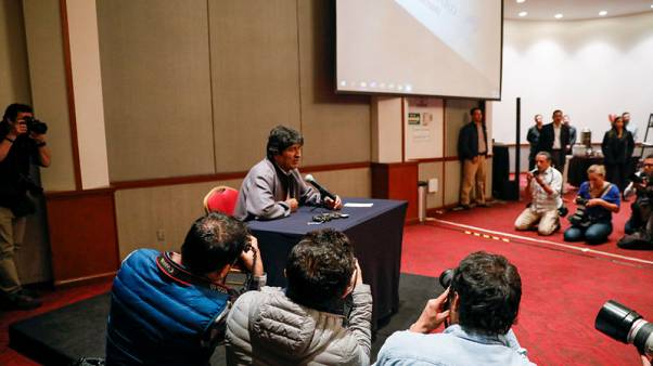 Bolivia socialists say neither Morales nor ex-VP will run in elections