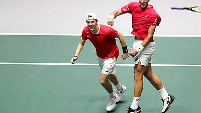 Pospisil keeps Davis Cup magic alive as Canada advance