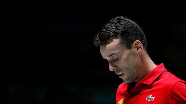 Spain's Bautista Agut out of Davis Cup after father's death