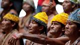 Amazon tribe demands Bolsonaro stop mining on reservations, hydro dams