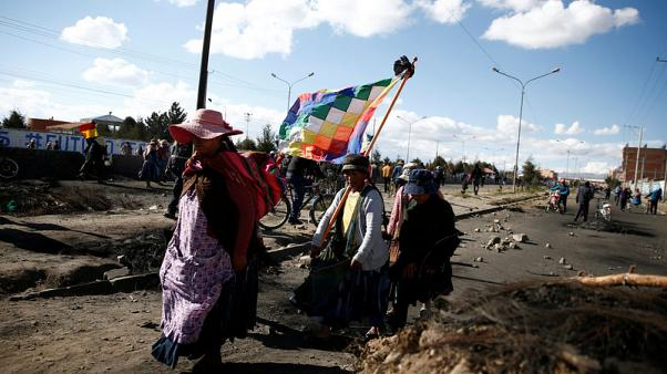 Bolivia's indigenous divided over ousted champion Morales