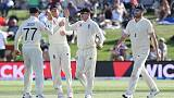 Williamson dismissal puts England in front in first New Zealand test