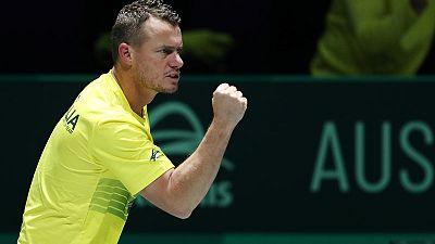 Hurting Hewitt pans Davis Cup scheduling after Australia eliminated