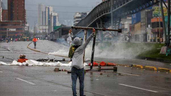 Colombian protests end with tear gas, curfew in city of Cali