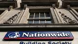 Britain's Nationwide reports profits fall 33% as spending, competition bite