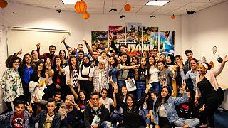 Les élèves du programme Access Tunisie en visite à l'ambassade
