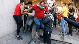 Iraqi forces kill four protesters, cleric warns of crisis