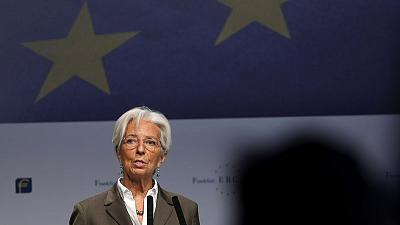 Euro zone needs to create its own economic growth at home: ECB's Lagarde