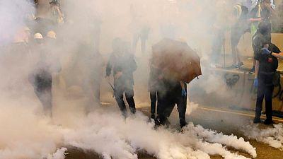Hong Kong's clouds of tear gas spark health panic
