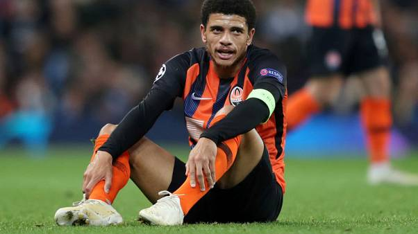 Ukraine FA says Taison had to be held accountable for reaction to abuse