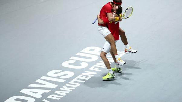Nadal rescues Spain but heartbreak for Djokovic's Serbia