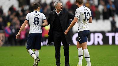 Spurs sparkle on Mourinho's happy return