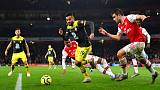 Arsenal's Lacazette strikes late to rescue point against Saints