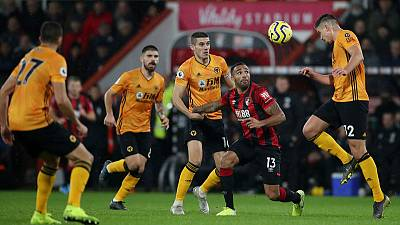 Wolves punish 10-man Bournemouth to extend unbeaten run