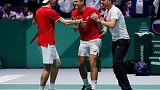 Canada edge out Russia to reach Davis Cup final