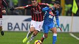 Milan and Napoli still searching for winning formula after San Siro stalemate
