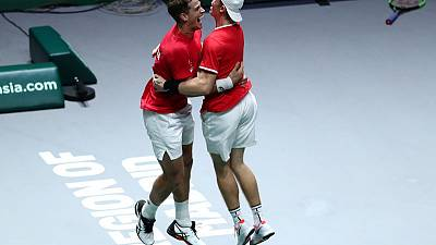 It's ridiculous says delighted Shapovalov as Canada reach Davis Cup final