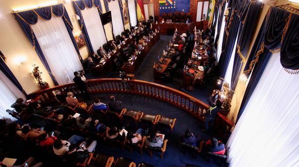 Bill for new elections in Bolivia sails through Congress