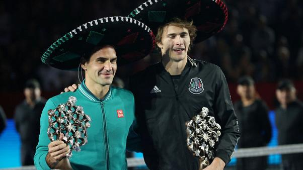 Federer and Zverev Mexico City match breaks world attendance record