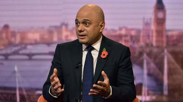 Javid promises 'very detailed costings' of Conservative manifesto