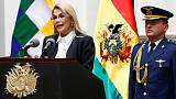 Bolivian leader agrees to withdraw military in deal to 'pacify' country