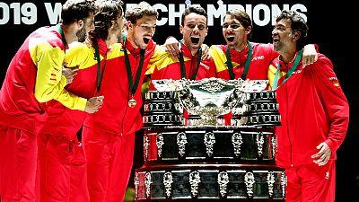 Nadal delivers Davis Cup title for Spain