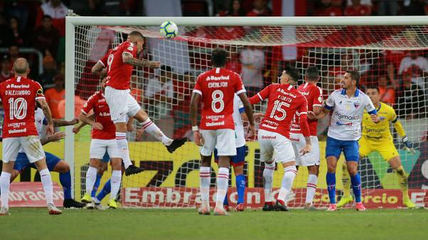 Guerrero scores twice as Inter draw at home with Fortaleza