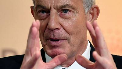 Former PM Blair: Don't hold your breath for UK-U.S. trade deal