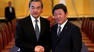 Japan stresses to China importance of free, open Hong Kong