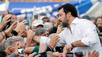 From euro to ESM, Italy's Salvini re-trains his eurosceptic fire