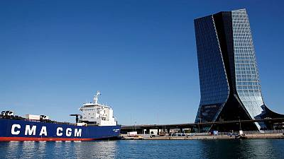 CMA CGM to raise $2 billion from port terminal, ship sales to fund CEVA deal