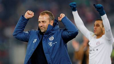 Bayern relishing raucous Red Star reception, says Flick
