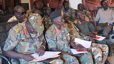 Former Military Foes Attend Training on Child Protection (By Emmanuel Kele)