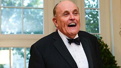 U.S. prosecutors seek information on payments to Trump lawyer Giuliani