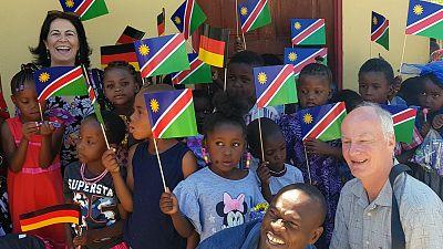 Official handover at 'Bright Hill Pre-School' in Okuryangava