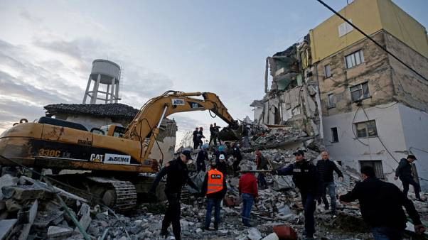 Four dead, buildings down as strongest tremor in decades rocks Albania