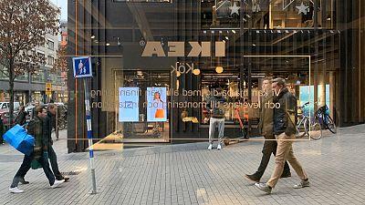 Main IKEA store owner's full-year operating profit falls 10%