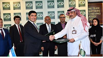 Signing of the USD 10 Million Line of Financing Agreement and an Advisory Agreement between the Islamic Corporation for the Development of the Private Sector (ICD) and Asia Alliance Bank (AAB), Uzbekistan