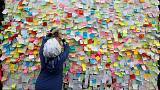 'When will the bloodshed stop?' - notes and prayers on Iraq's Wall of Wishes