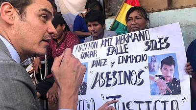 'Massive' human rights violations in Bolivia merit outside probe - regional commission head