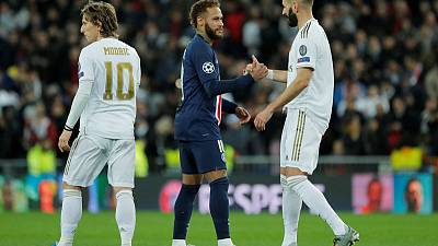 PSG produce dramatic comeback to draw 2-2 at Real Madrid