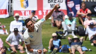 New Zealand's Boult, De Grandhomme ruled out of second test