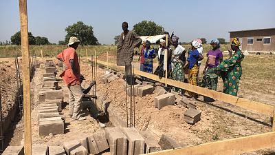 GE Steam Power et buildOn posent les fondations d'une nouvelle école au Sénégal