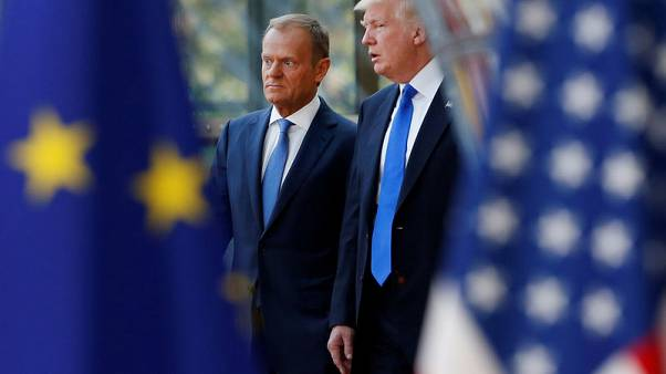 EU's Tusk - Trump is 'perhaps the most difficult challenge' for Europe
