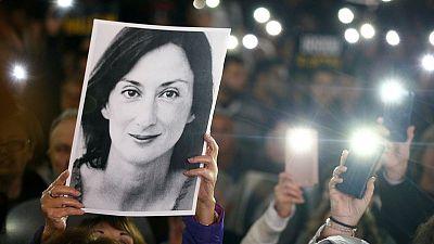 Malta ex-chief of staff under arrest, faces further questions in murder probe