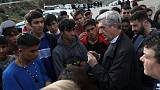U.N. refugees chief urges Greece to improve 'miserable' camp conditions
