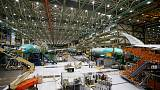 Boeing 777X fuselage split during September stress test - Seattle Times