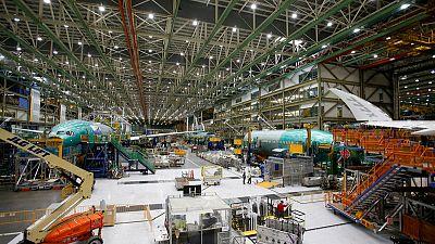 Boeing 777X fuselage split during September stress test - Seattle Times