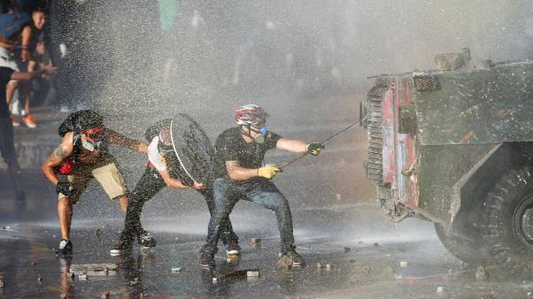Chilean lawmakers warn democracy at stake as violence spikes